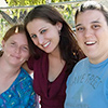 Theresa, Amanda and Kris