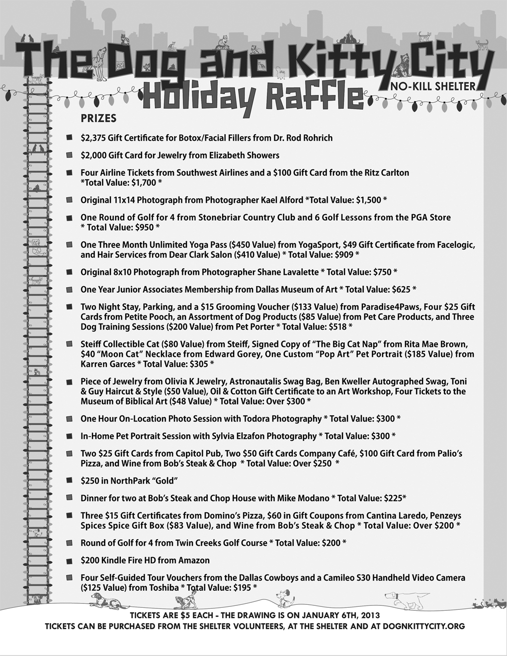 About us news archive humane society of dallas county hsdc raffle 2012 flyer color aiddatafo Image collections