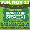 <small>Flier from the Blue Collar Bar.</small>