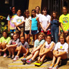 Girl Scout Troop 8539 from Christ the King School